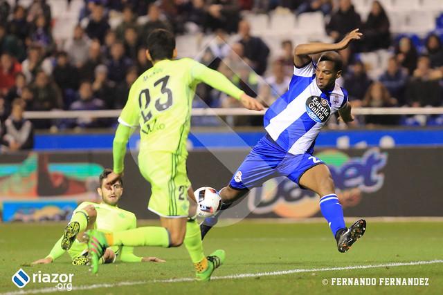 Copa del Rey. 1/16 de final. RC Deportivo 3 - Betis 1