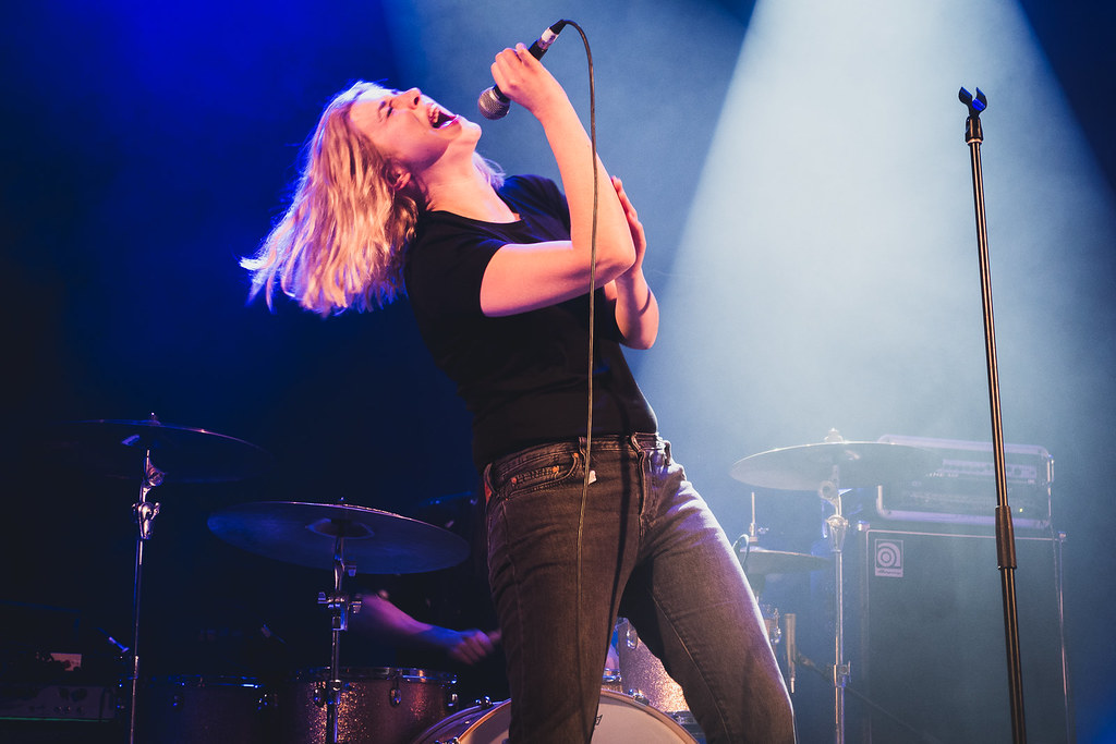 The Estrons supporting The Joy Formidable