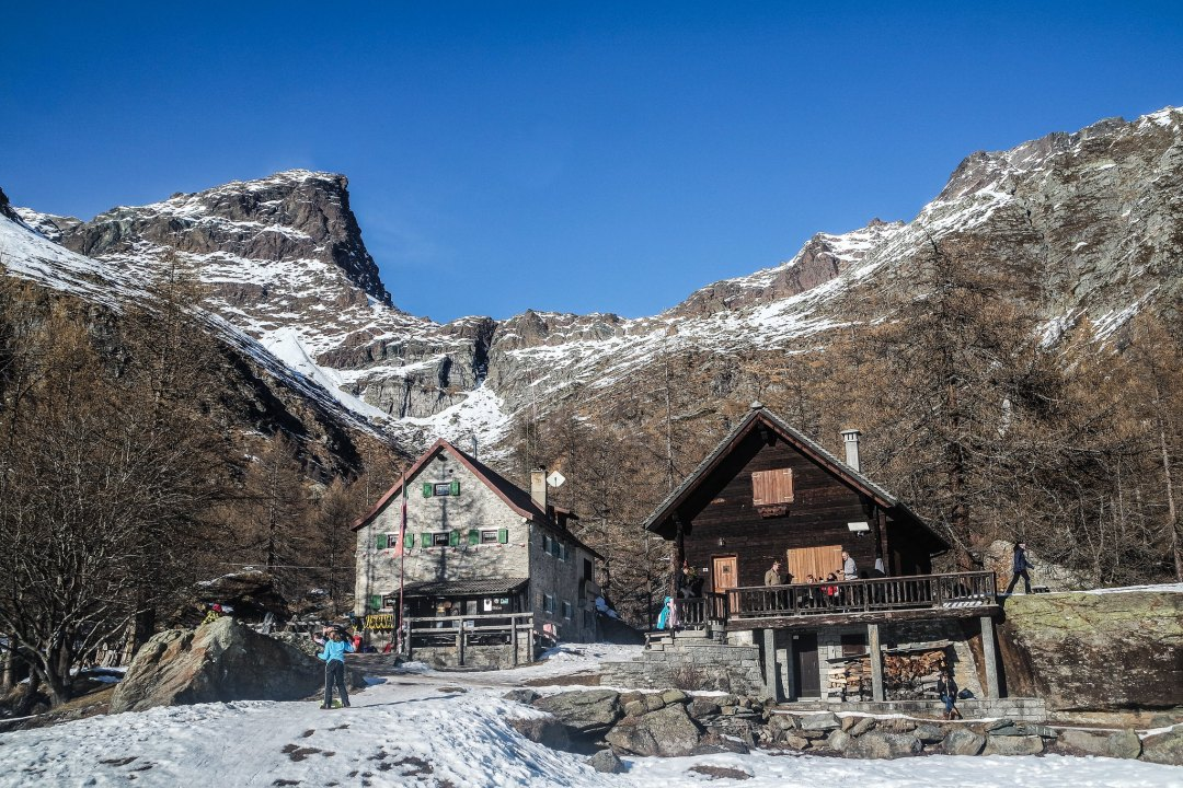 Rifugio Castiglioni (Alpe Devero)