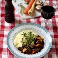 Nyår: snabb oumph bourguignon - vegetarisk + vegansk
