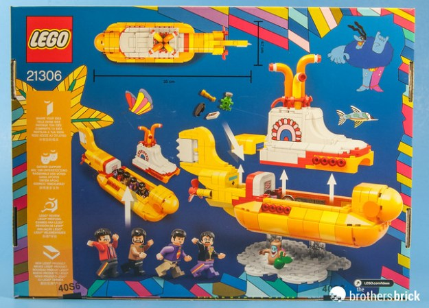 21306 The Beatles Yellow Submarine