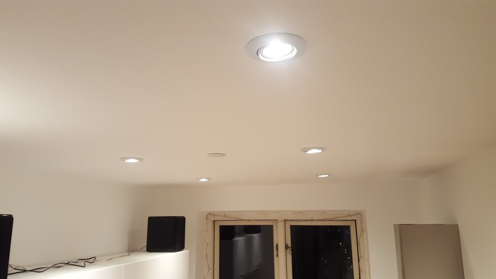 medium resolution of guide lower ceiling and install led downlight