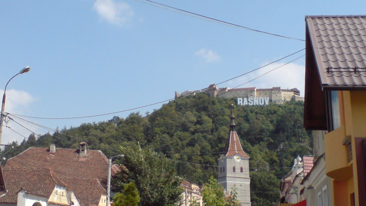 The Râșnov Citadelle, Romania