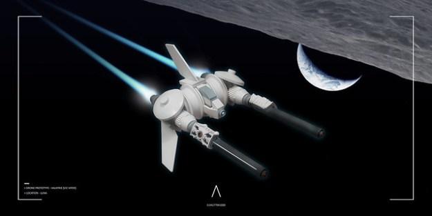 Drone prototype Valkyrie
