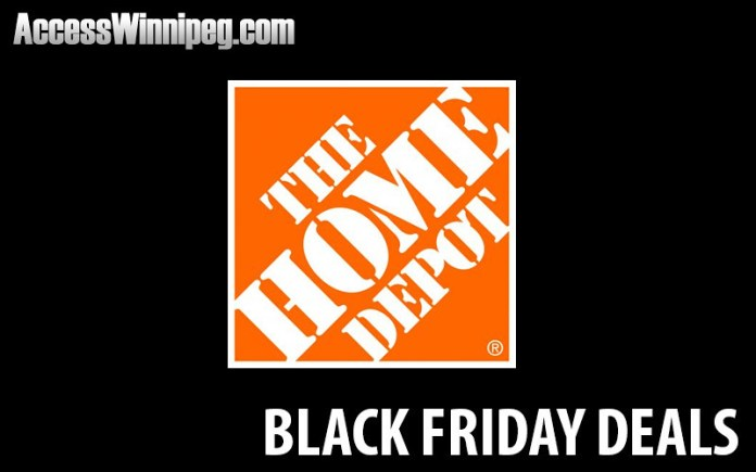 Home Depot Canada Black Friday Deals 2020