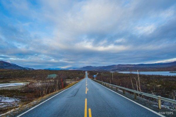 The Road to Skibotn - Kilpisjarvi, Finland.jpg
