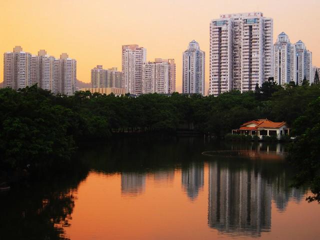 Šenzen - Shenzhen Lizhi Park
