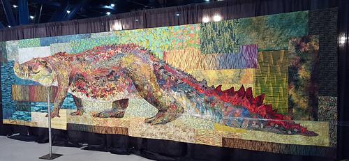 Crocodylus Smylus by Susan Carlson