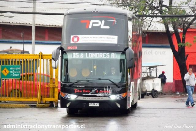 Talca París & Londres N° 6050 | Santiago | Modasa Zeus 3 - Volvo B420R 8x2 / HTRF42