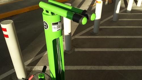 Valley Fair Mall bike facilities