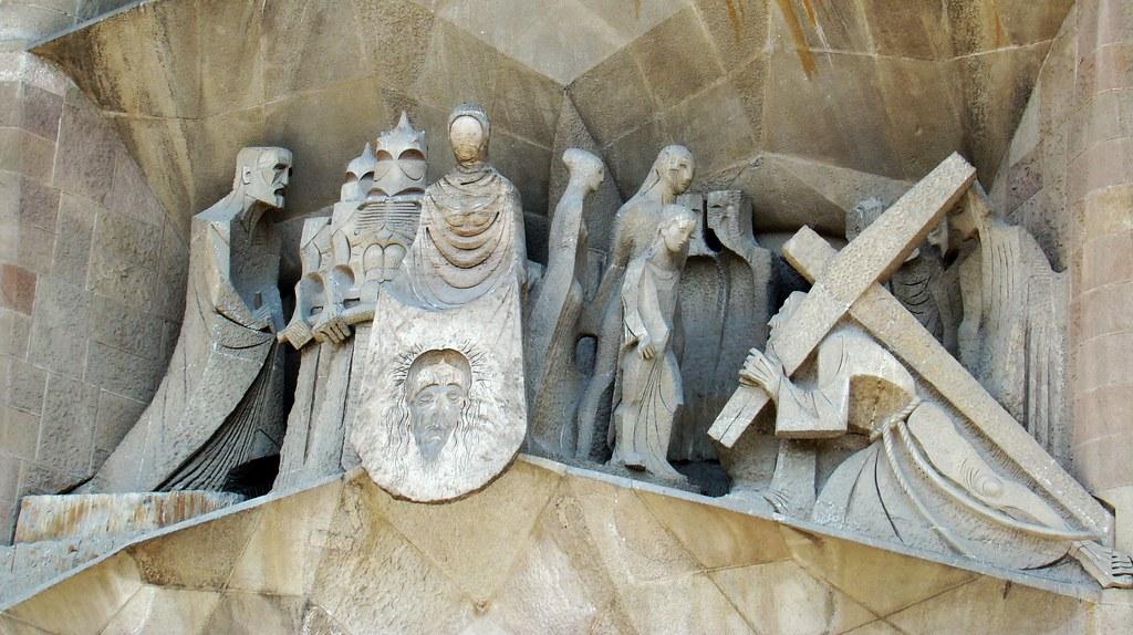 Escultura Sagrada Familia Barcelona 05