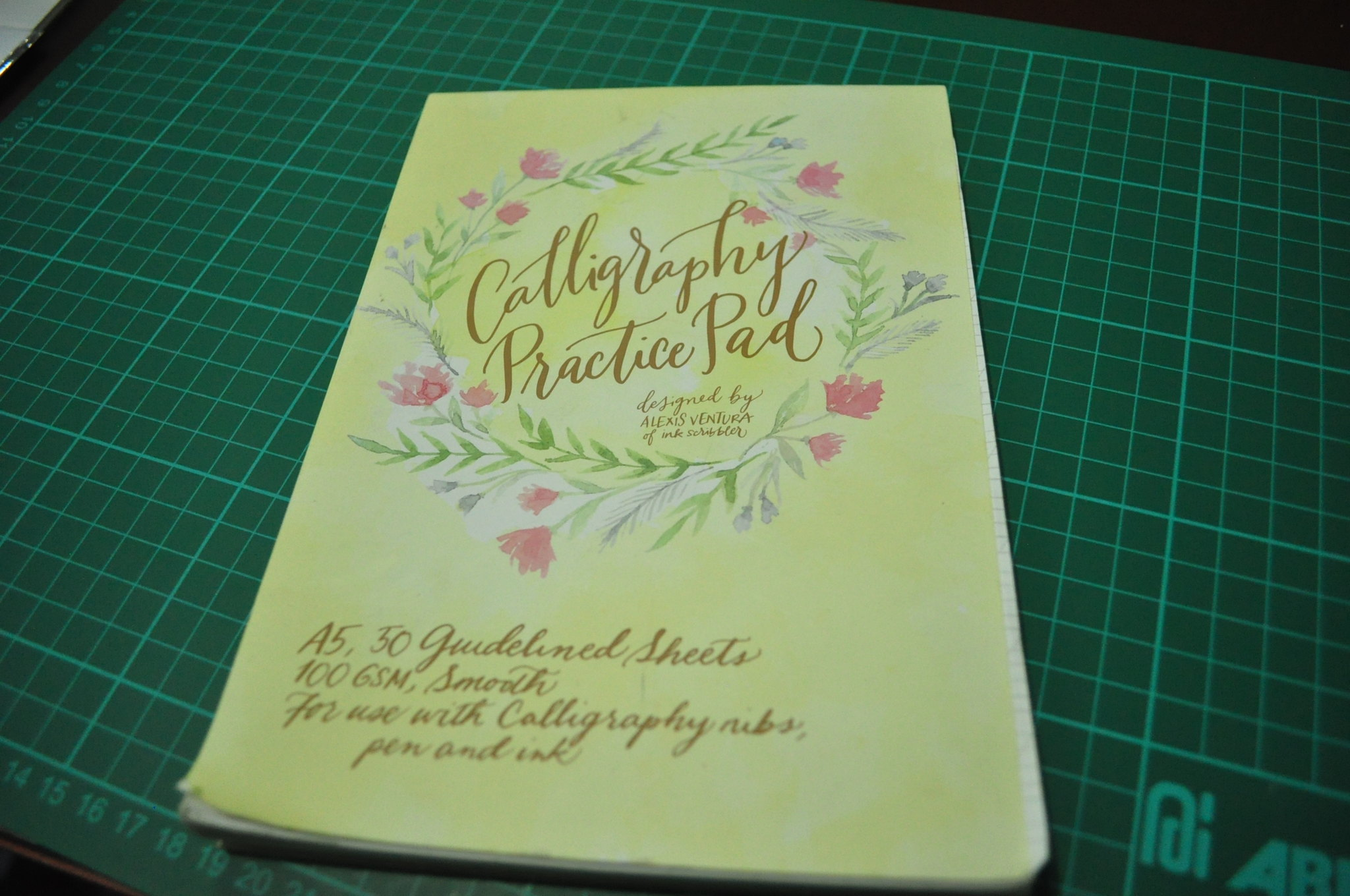 Calligraphy Pads Mq Scribbles