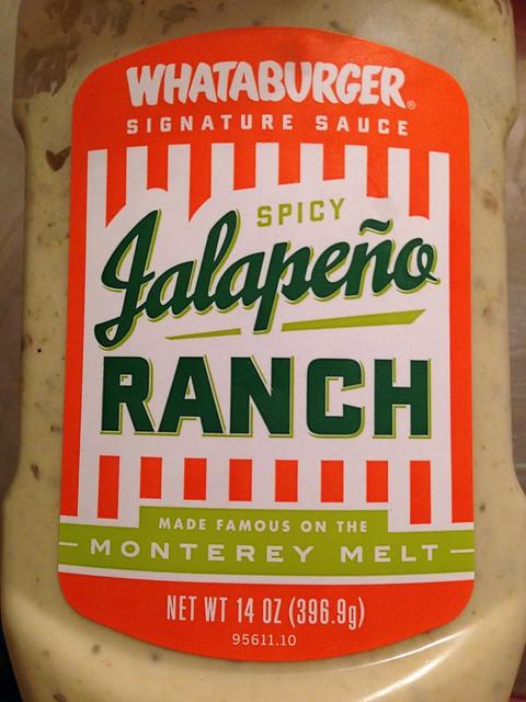 Whataburger Spicy Jalapeno Ranch