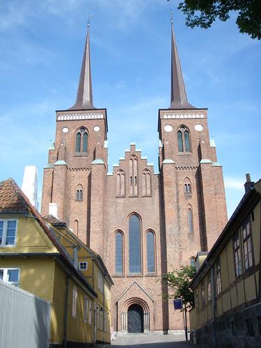 Patrimonio de la Humanidad en Europa y América del Norte. Dinamarca. Catedral de Roskilde.