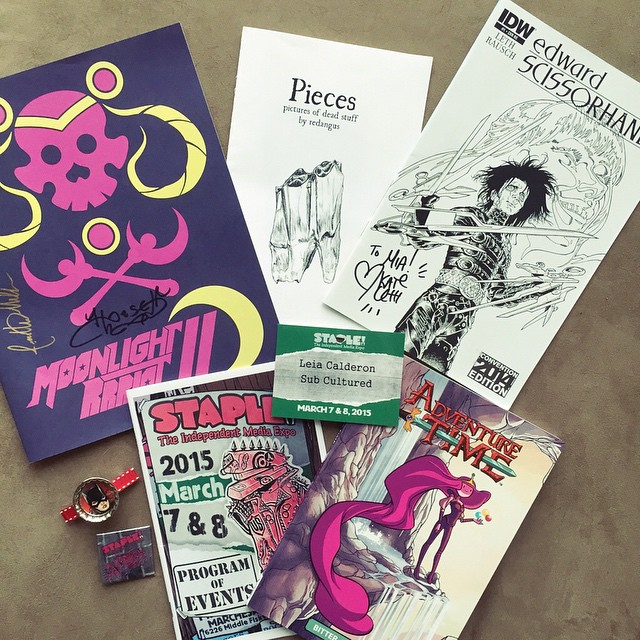 I had such a great time at #staple2015 today!! It's always fun to check out work from indie creators and the panels this year are phenomenal. If you're in the Austin area, you should definitely check it out tomorrow if you haven't already! I'll be posting