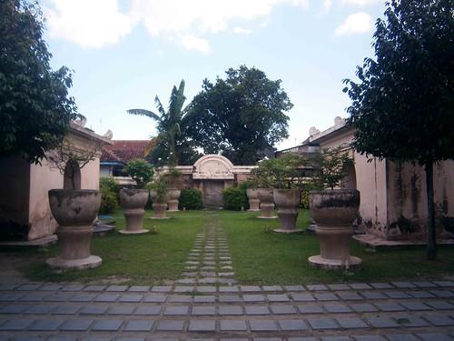 Entry Garden at Taman Sari