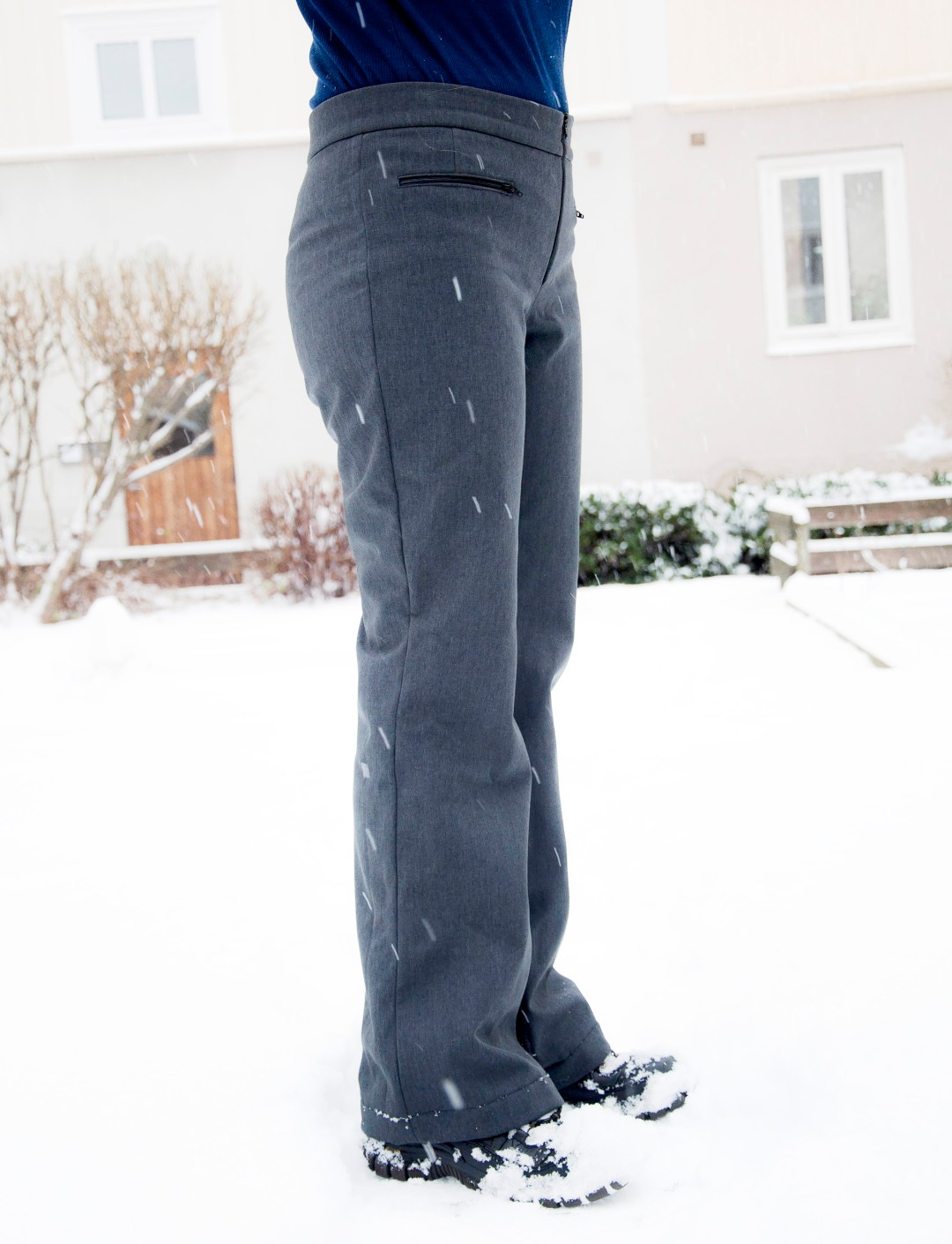 Burdastyle ski pants