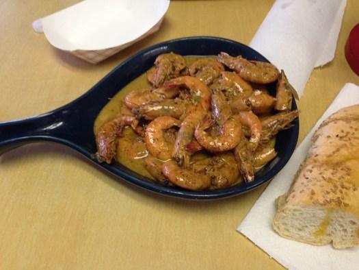 BBQ Shrimp, Bevi Seafood, New Orleans