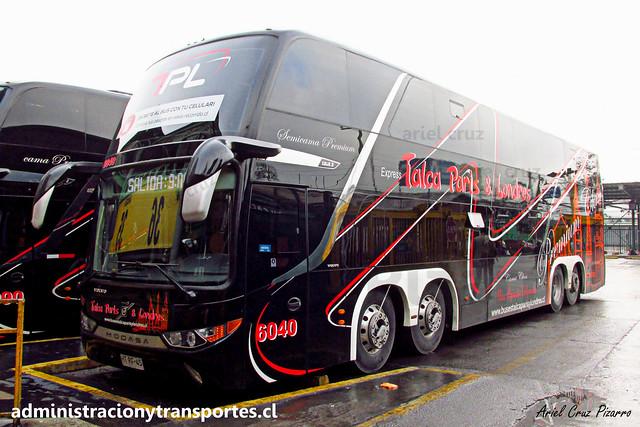 Talca París & Londres N° 6040 | Santiago | Modasa Zeus 3 - Volvo B420R 8x2 / HTRF45