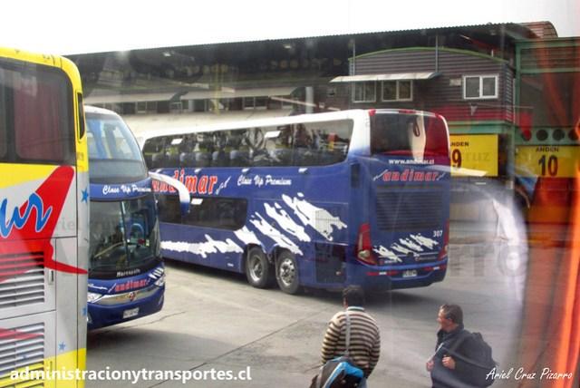 Nueva Andimar Vip | Santiago | Marcopolo Paradiso 1800 DD - Scania / Volvo (FLCZ94 / HJGG41)