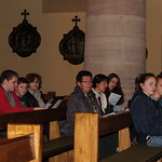 Visite pastorale Veillée de prière avec les jeunes