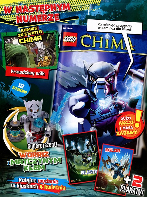 LEGO Legends of Chima Oficjalny Magazyn 2014-03 03
