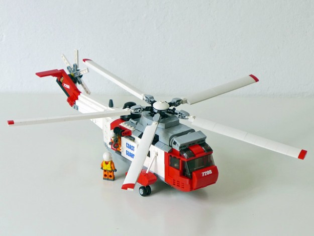 Sikorsky/Westland Sea King Helicopter PF motorized (Coast Guard livery)