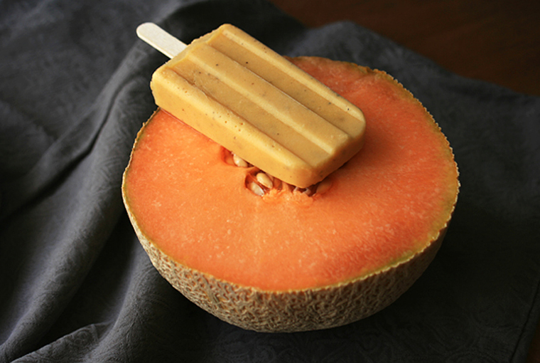fresh philosophie | spiced cantaloupe cream pops