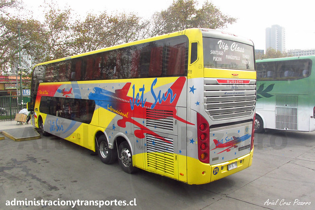 Jet Sur | Santiago | Busscar Panorâmico DD Elegance - Mercedes Benz / CKDL70