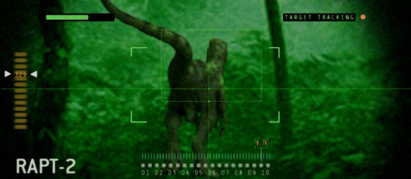 JurassicWorld_raptorscreen_Infrared por Seth Engstrom