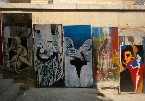 WEIRDINTERESTING- wall in Beirut