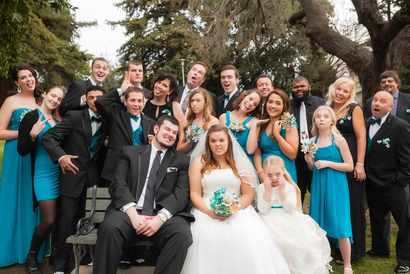 Superheroes, spiral ceremony, and a three-dad giveaway wedding from @offbeatbride