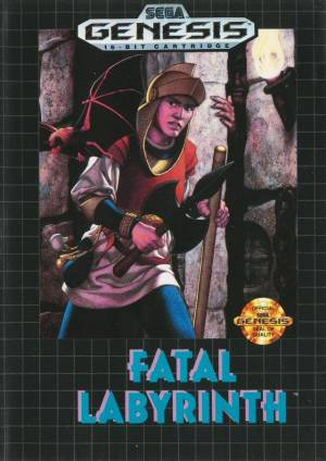 difficult genesis games Fatal Labyrinth box