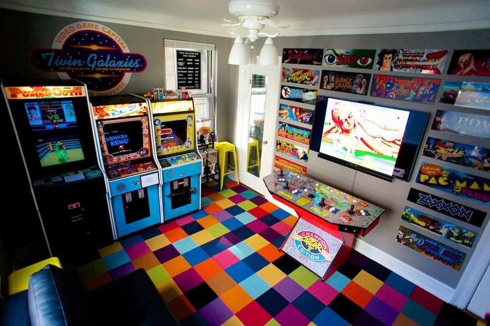 Manhattan bedroom arcade a collection of retro games that
