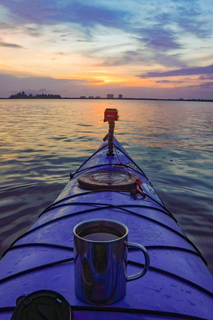 Kayaking Coffee