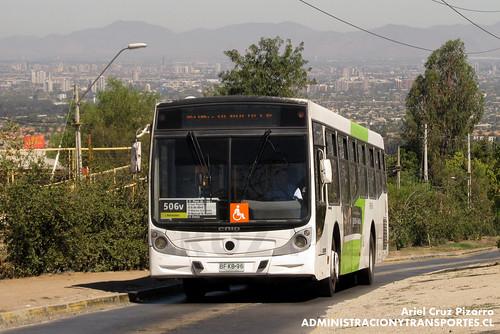Transantiago - Metbus - Caio Mondego H / Mercedes Benz (BFKB96)