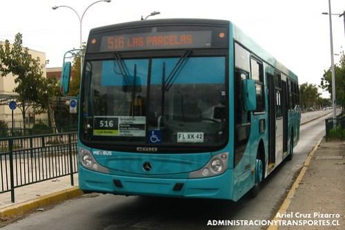 Transantiago - Metbus - Caio Mondego H / Mercedes Benz (FLXK42)
