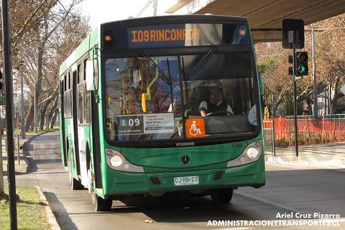 Transantiago - Buses Vule - Caio Mondego H / Mercedes Benz (CJRB23)