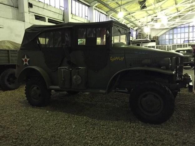 Командирский автомобиль Dodge WC-6 (1941-1942)