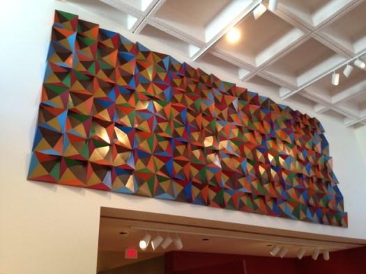 Doris Leeper, Modular Wall Relief in Eight Colors, 1972-74