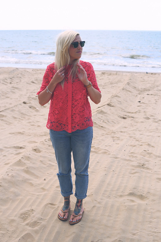 M&S blouse outfit