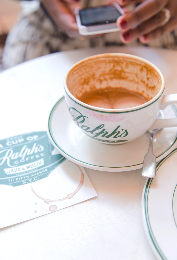 Coffee Journal | Ralph's Coffee, NYC | the Whinery by Elsa Brobbey