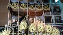 Foto de Ntra. Sra. de la Esperanza de Linares procesionando Carrera Oficial
