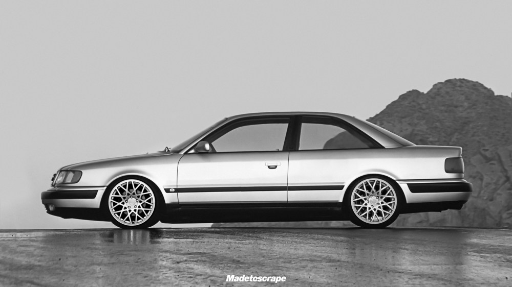 medium resolution of creative sat audi 100 c4 coupe