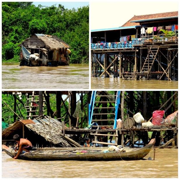 Kampong Khleang en Tonle Sap