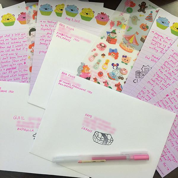 letterwriting
