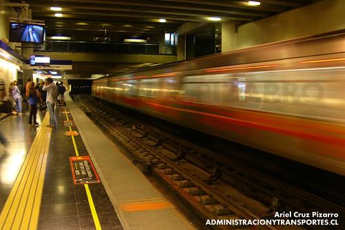 Metro de Santiago - Alstom AS2002 - Grecia (L4)