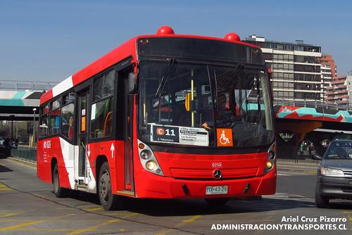Transantiago - Redbus Urbano - Neobus Mega LE / Mercedes Benz (MX4326)