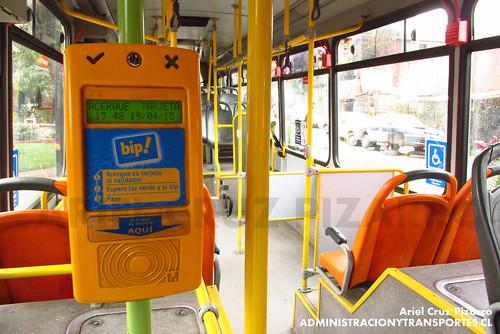Transantiago - Redbus Urbano - Neobus Mega Low Entry / Volvo (CPFP30)