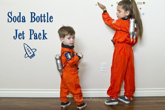 Soda Bottle Jet Pack